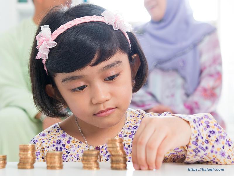 قيمة العيدية بالنسبة للطفل