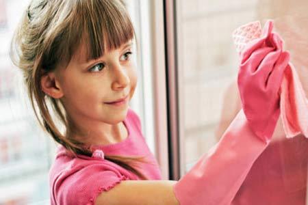 المهام المنزلية تصنع مستقبل الطفل
