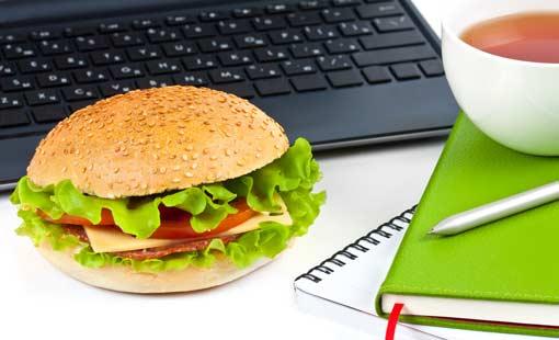 ماهي درجة وعيكِ الغذائي في العمل؟