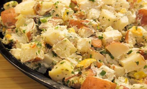 سلطة البطاطا