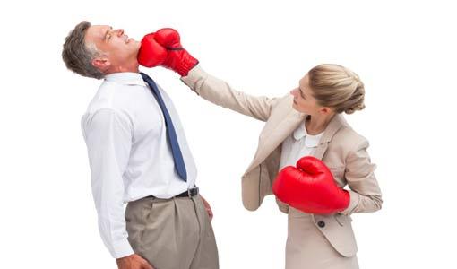التنافس بين الزوجين