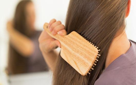 اكتشفي مدى صحّة شعرك