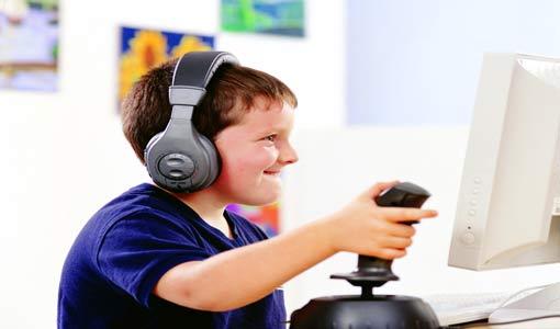 إدمان ألعاب الفيديو عند الأبناء