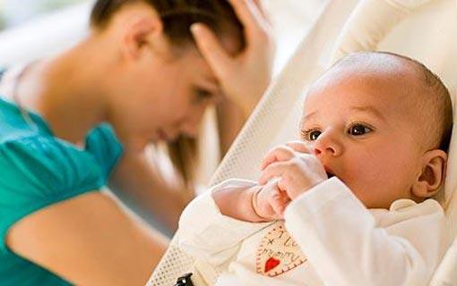 بهجة الإنجاب يفسدها إكتئاب ما بعد الولادة