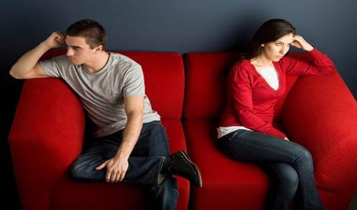 المعارك الزوجية تؤثر على صحة الشريكين