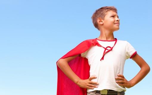 الطفل وتنمية الثقة بالنفس