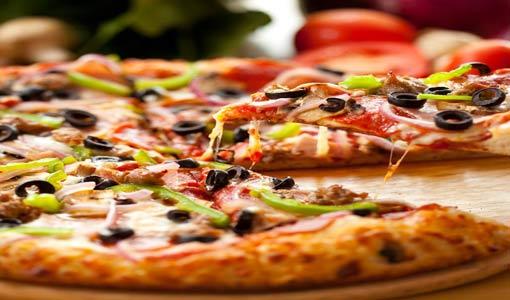 بيتزا بف باستري بالخضراوات