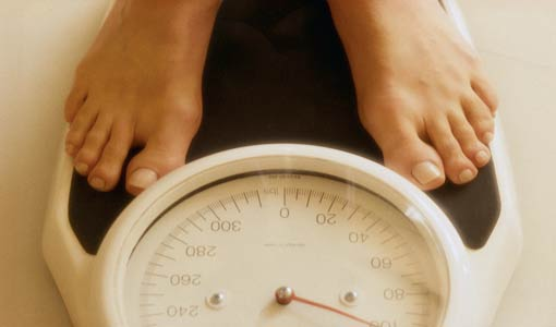 زيادة الوزن بعد إنقطاع الطمث