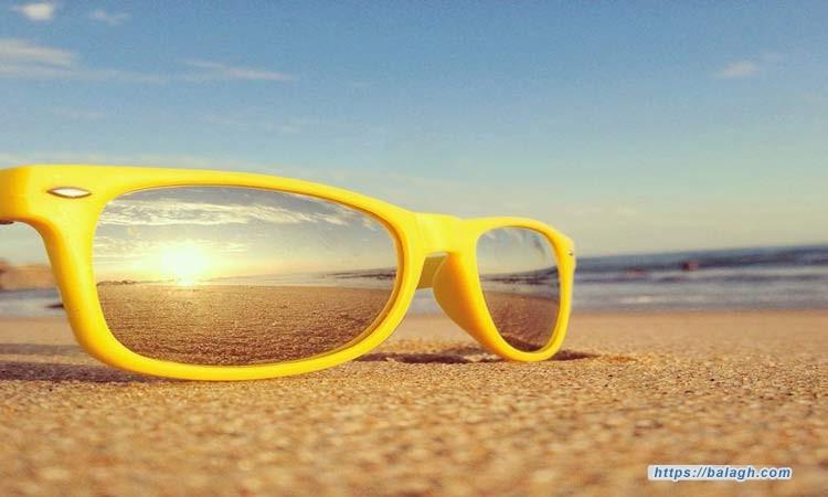 مواصفات النظارة الشمسية الأصلية