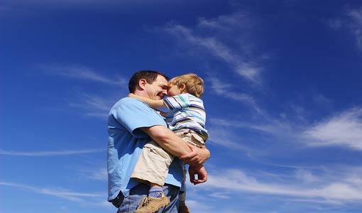 روابط التعلق الآمن بين الأب والطفل