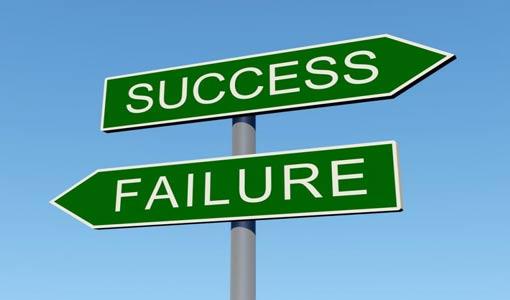 خريطة النجاح والفشل