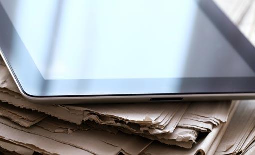 الثورة المعلوماتية والصحافة