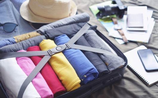 أتيكيت ترتيب الحقائب عند السفر