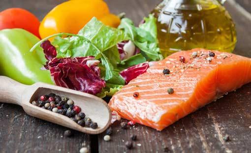 الشحوم الثلاثية والألياف الغذائية