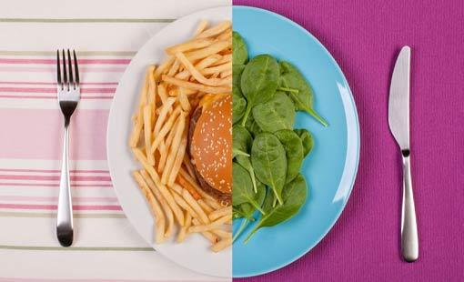 دور العادات الغذائية في تشكل دهون البطن
