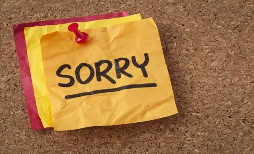 ثقافة الاعتذار