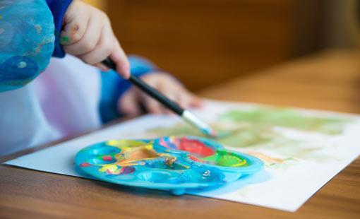 تحفيز موهبة الرسم عند الأطفال