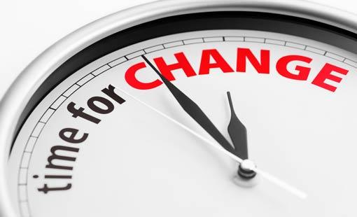 المدارج الخمس للتغيير