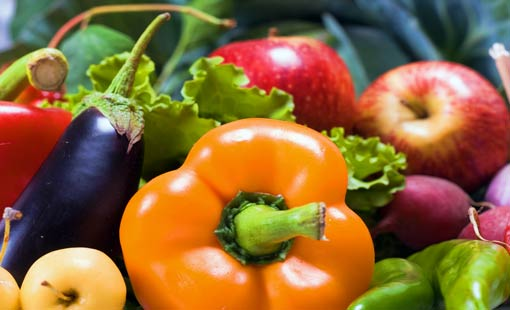 غذاء قليل الدهون لصحة جيدة