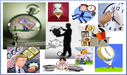 التحكم في وقت العمل خلال اليوم