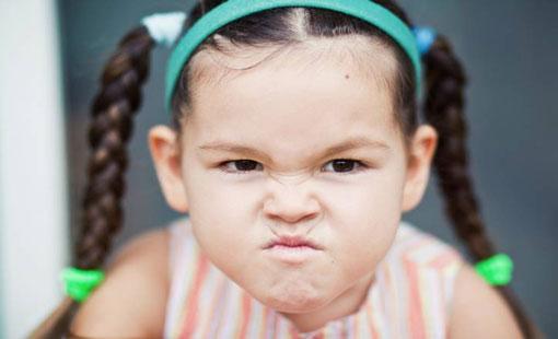 مشكلة الغضب عند الطفل