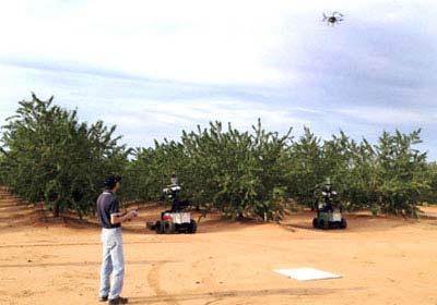 الروبوت الفلاح يقطف الفاكهة