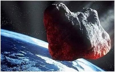 صخرة عملاقة بحجم 3 ملاعب كرة قدم تتجه نحو الأرض
