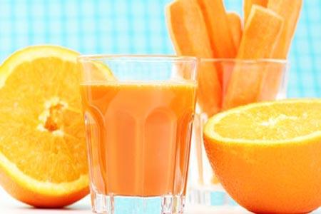 تناول الجزر والبرتقال يمنع انسداد عضلة القلب