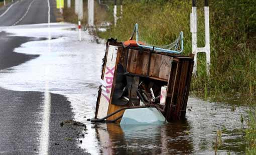 رياح شديدة تشل نيوزلندا