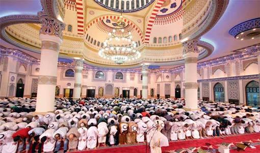 الأدب في المسجد
