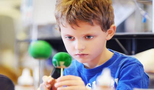 تنشئة الطفل المبدع