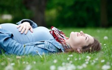 حامل وجميلة
