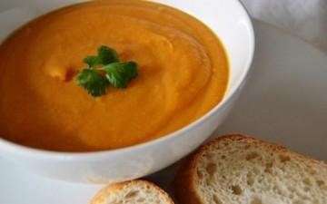 حساء العدس والجزر
