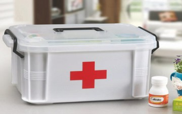 تهيئة خزانة الأدوية المنزلية