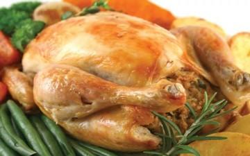 دجاج محمر مع فريك بالخلطة
