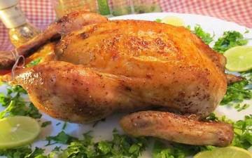 دجاج صحيح بصلصة باربيكيو