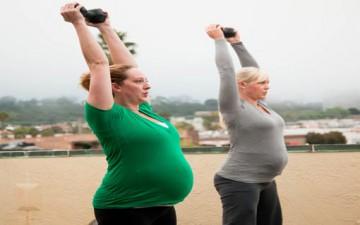 التمارين الرياضية أثناء الحمل
