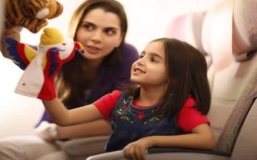 سفر آمن بالطائرة.. تحدي لأطفالنا
