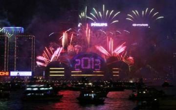 احتفالات حول العالم بحلول العام الجديد بالصور