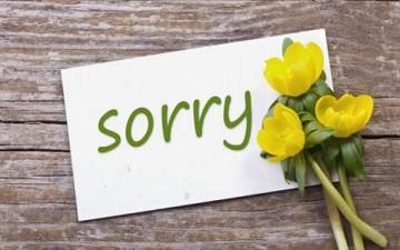 خمس لغات للاعتذار بأربع خطوات