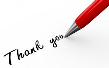 طرق تقديم الامتنان والشكر