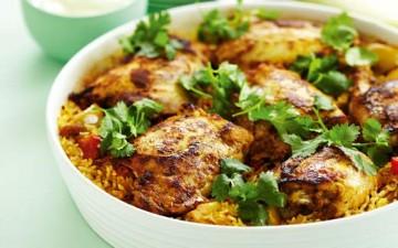 أرز شرقي بالدجاج