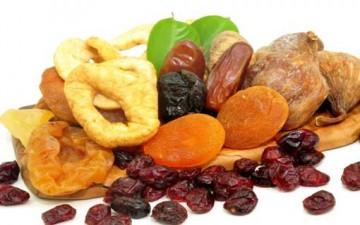 الفواكه المجففة غزيرة بالفوائد الصحية