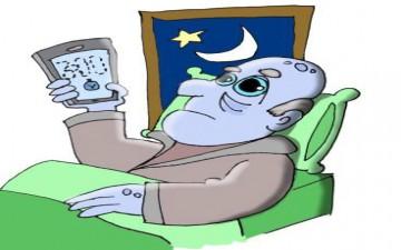 أضرار تصفح الهاتف المحمول قبل النوم