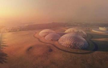 الإمارات تطلق مشروع مدينة المريخ