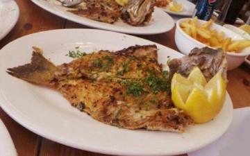 شوربة زنجبيل مع سمك هامور سنجاري