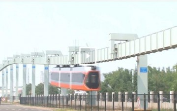 أسرع قطار معلق بالصين يدخل حيز التجريب