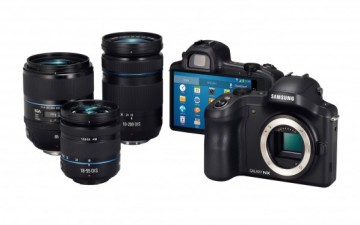 سامسونج تعلن عن كاميرا Galaxy NX بعدسات قابلة للتبديل