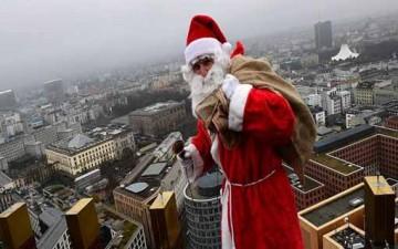 هبوط غير متوقع لبابا نويل في ألمانيا