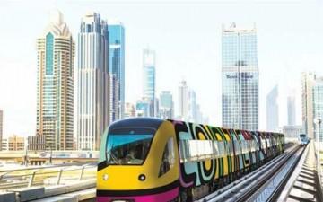 محطات مترو دبي تتحول متاحف ثقافية وفنية